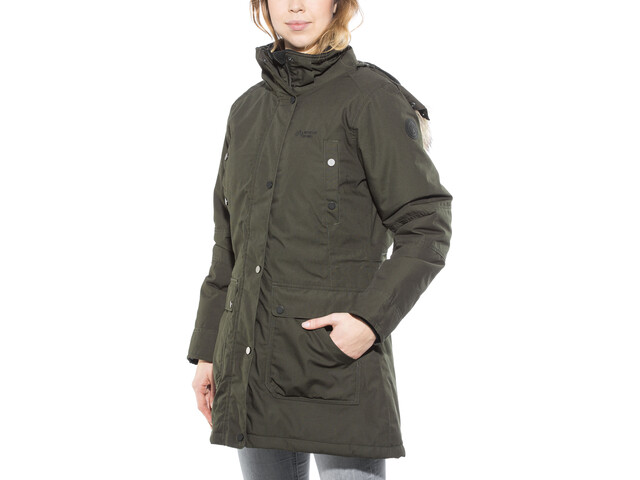 competitive price 61bb5 3180b North Bend Nordic Parka Damen dunkelgrün